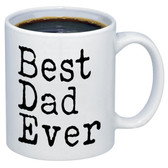 Best Dad Ever fathers day present ceramic coffee mugs