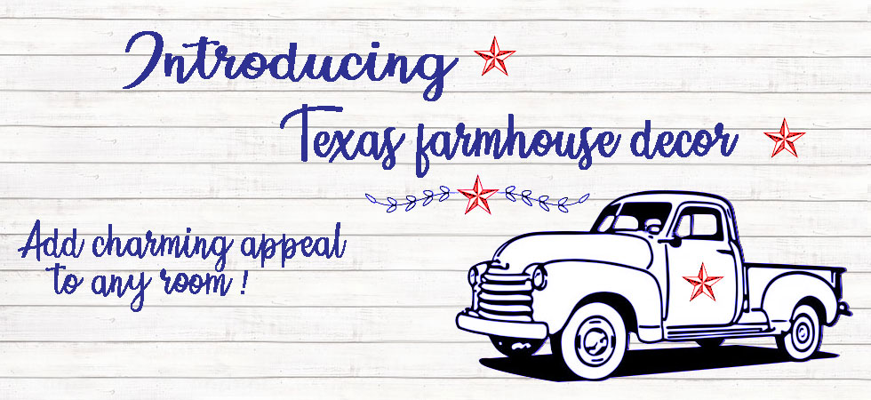 Add charming Texas farmhouse appeal to any room with farmhouse animal embroidery in warm country colors.  Add to your country kitchen or  bath collections and accents with pitches, soap dispensers and more.