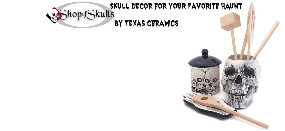 Skull decor and more for your favorite haunt