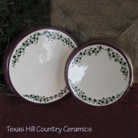 Ceramic Stove Top Burner Cover Set of 2 ~ Tuscany Country Collection