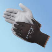 Polyurethane Palm Coated Nylon Knit Gloves  ## PUG-10 ##