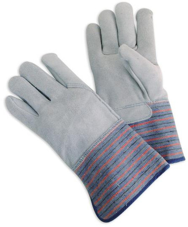 Full Leather Back Select Cowhide Palm Work Gloves  ## 541 ##