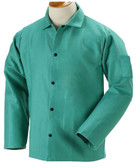 "30"" Green Fire Resistant FR Jackets  ## F9-30 ##"