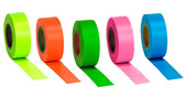 Fluorescent Glo Flagging Ribbons comes in Multiple Colors  ## GLTP100 ##