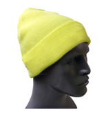Hi-Vis Knit Hats - Lime Green ##KC401 ##