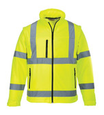 Hi-Vis Softshell Jacket - Hi-Vis Yellow ## US428YER ##