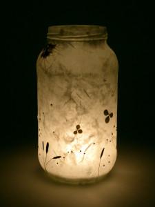 Silk Strand Paper - Nigella Flower Lantern
