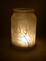 SOLD - Lokta Paper - Fennel Lantern