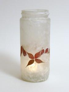 Silk Strand Paper - Berberis Star Lantern