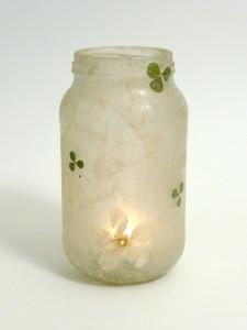 Lokta Paper - Clover & Amelanchier Flower Lantern