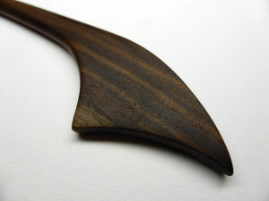 SOLD - Hand Crafted European Walnut Hair Pin