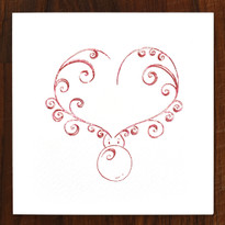 Cupid Cards - pack of 6