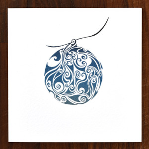 Bauble Cards - pack of 6