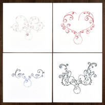 Reindeer Collection – Pack of 12  ( 3 x 4 designs )