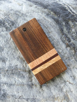 Deep Black Walnut Pendant