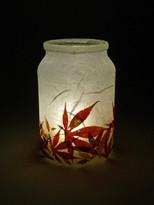 SOLD - Autumn Acer Lantern