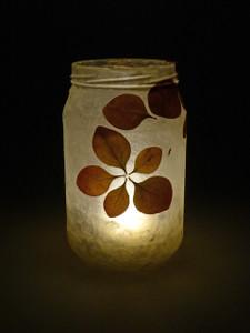 Berberis Leaf Lantern