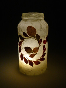 Berberis Spiral Lantern