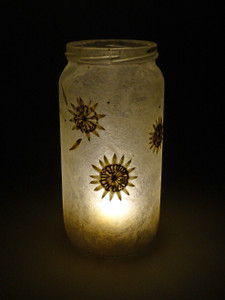 SOLD - Mandala Lantern