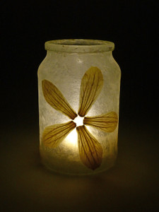 SOLD - Acanthus Flower Lantern