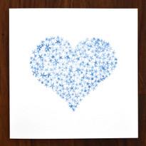 Flower Heart Card