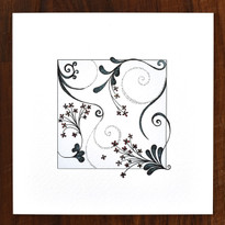 Bunches and Spirals Card