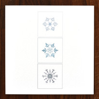 Snowflakes Cards - pack of 6