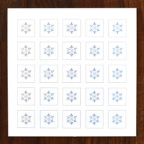 Snowferns Cards - pack of 6