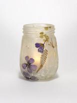 SOLD - Purple Geranium Lantern