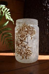 Elderflower Lace Lantern