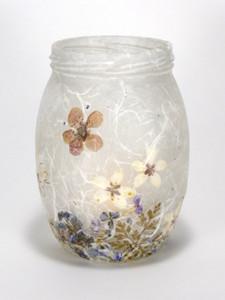 SOLD - Spring Garden Lantern