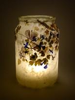 SOLD - Wild Leaf Lobelia Lantern