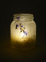 SOLD Blue Cornflower Lantern