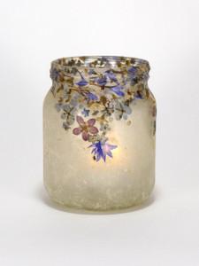 SOLD - Flower Lantern