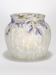 SOLD - Cornflower Blue Lantern