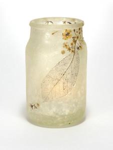 SOLD - Leaf Lantern