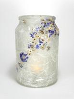 SOLD - Cornflower Blue Lantern.