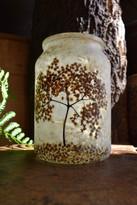 SOLD - Elder Blossom Lantern
