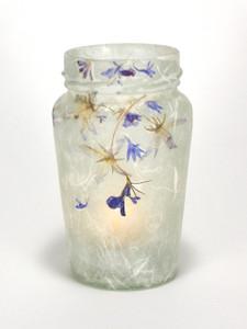 Blue & White Lantern