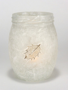 Holly Leaf Lantern