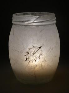 Holly Leaf Lantern