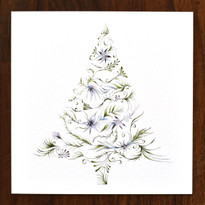 Christmas Tree Cards - pack of 6
