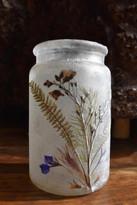 SOLD - Vintage Flower Lantern