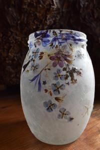 Blue Flower Lantern