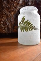SOLD - Little Fern Leaf Lantern