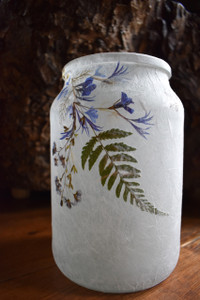 Flower & Fern Leaf Lantern