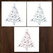 Tree Collection – Pack of 12  ( 3 x 4 designs )
