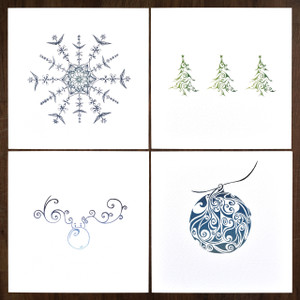 Festive Collection – Pack of 12  ( 3 x 4 designs )