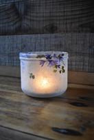 SOLD - Cornflower Lantern