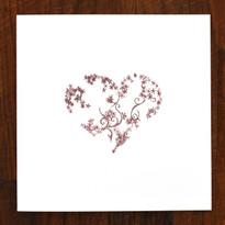 Ruby Heart Card